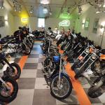 Harley Davidson motoren showroom