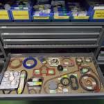 Veel technische Harley onderdelen op voorraad