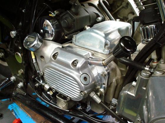 reverse gear / achteruitversnelling Harley davidson ®