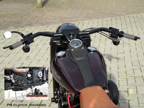 Pm contour hand controls
