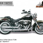 Kess tech voor harley davidson softail deluxe 3 inch
