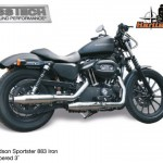Kess tech voor harley davidson Sportster 3 inch tapered