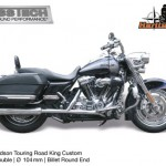 Kess tech voor harley davidson touring 104 mm billet slot