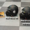 Roof Boxer v8 full black helm