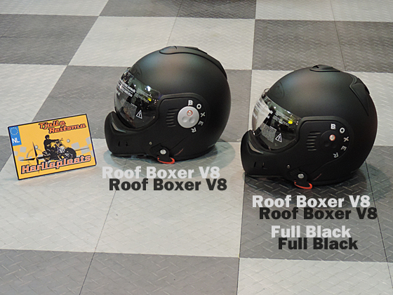 Roof Boxer V8 Full black