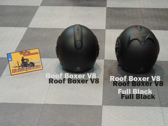 Roof Boxer V8 Full black ventilatie