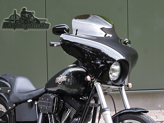 Batwing fairing voor night train en softail custom