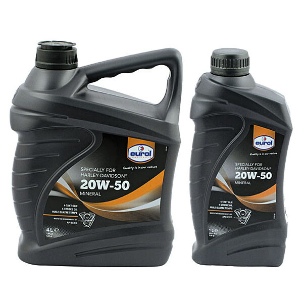 Eurol 20W50 Minerale Harley Davidson ® olie
