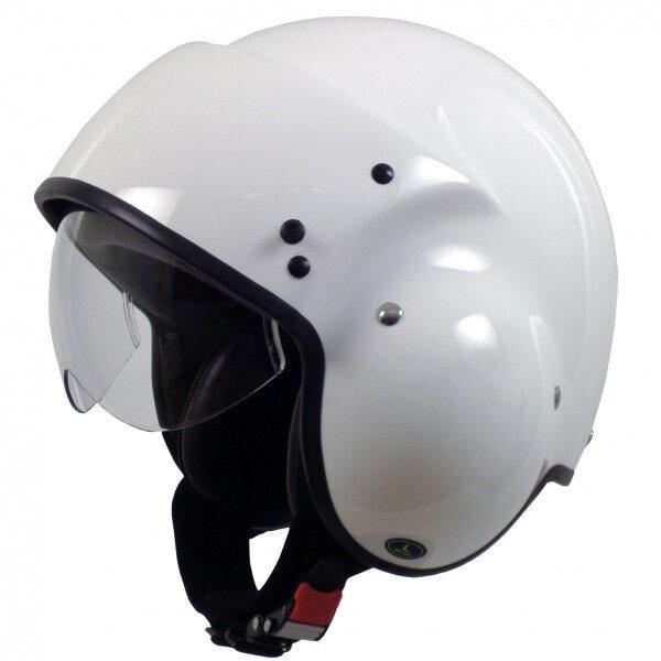 Pilotenhelm motor white