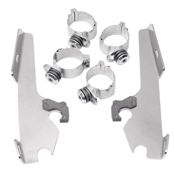 Trigger lock mount kits Dyna fatbob 2320-0031