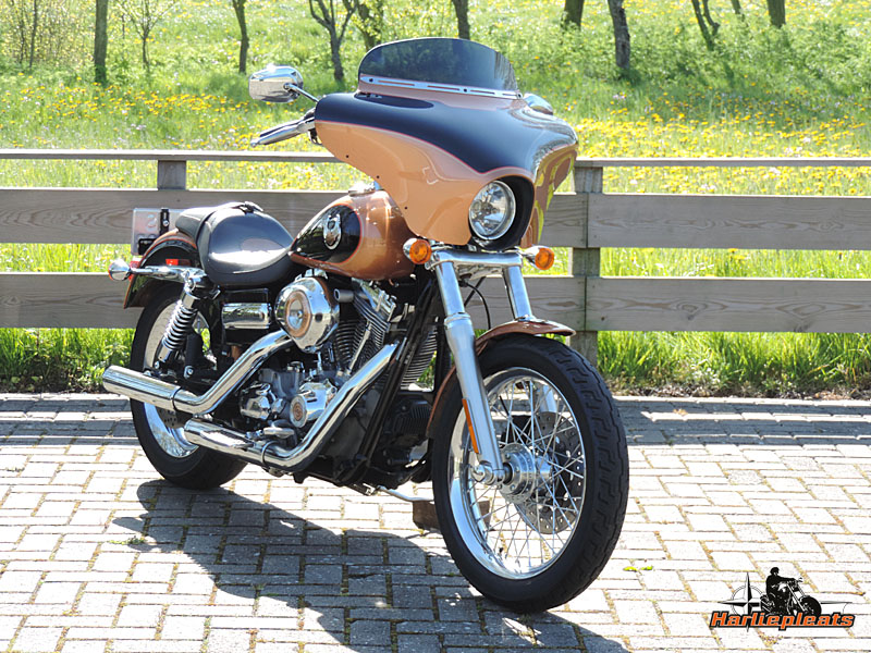 batwing fairing memphis shades dyna superglide custom