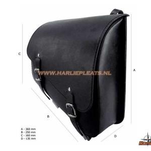 Sportster leather frame bag longride