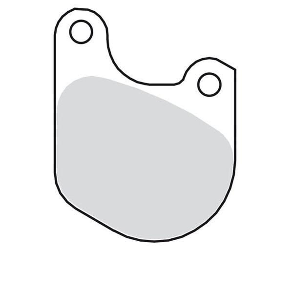 Remblokken 77-83 FX | 78-83-XL | 80-83 FXWG voorzijde 517705