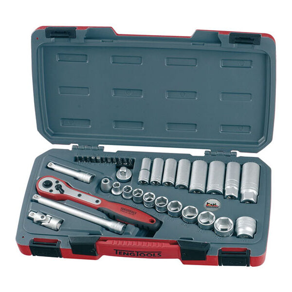 Teng Tools Doppenset inch maten 35 delig 514102
