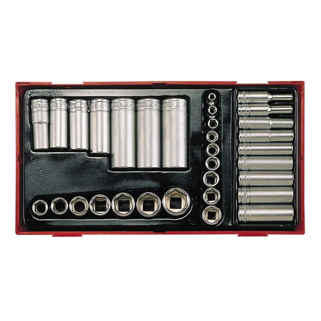 Teng Tools Doppenset inch maten 32 piece 514211