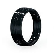Kury akin trim ring unlit black touring