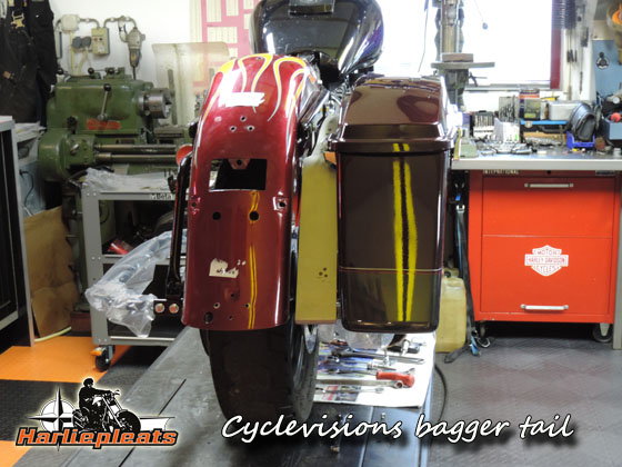 cyclevisions bagger tail