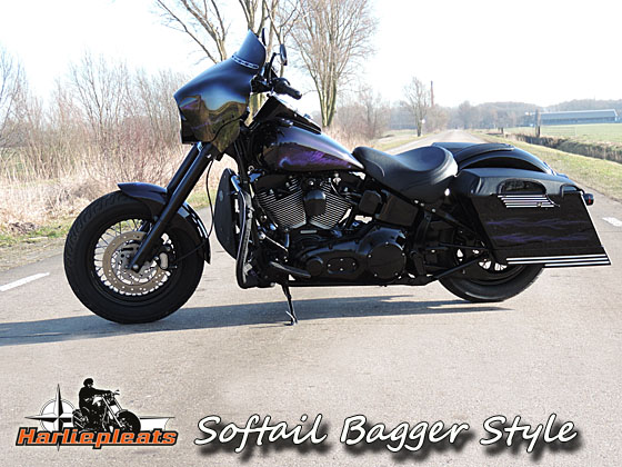 softail bagger style links