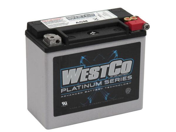 Westco WCP20L accu 97 up softail- dyna en HD sportster 558013