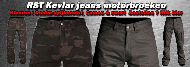 RST cargo kevlar jeans motorbroek