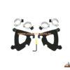triggerlock mount kit gauntlet fairing black 2320-0119
