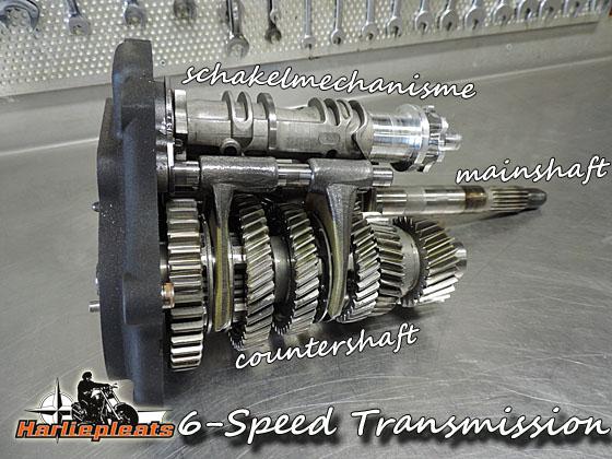 binnenwerk versnellingsbak twin cam 6 speed