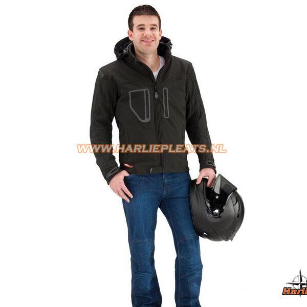 Evolution TJ2.41 softshell motorjas zwart