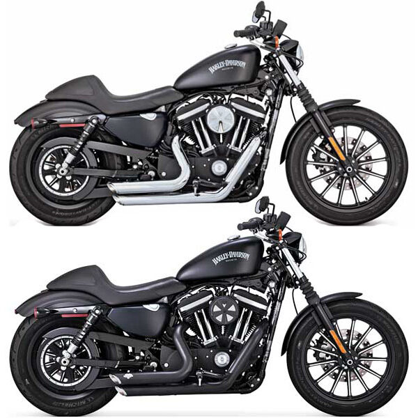 Vance & hines shortshots staggered sportster uitlaat