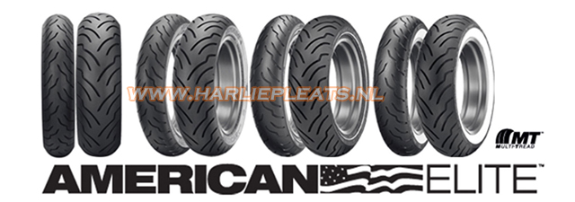 Dunlop American elite banden voor Harley Davidson
