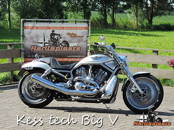 Kess Tech Big V uitlaat v-rod