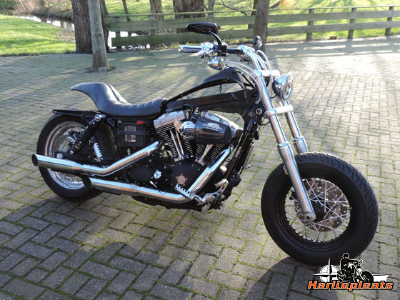 Streetbob bobber in wording