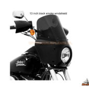 road warrior fairing 13 inch black smoke