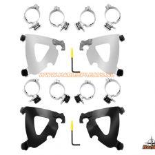 Road warrior fairing triggerlock mount kit