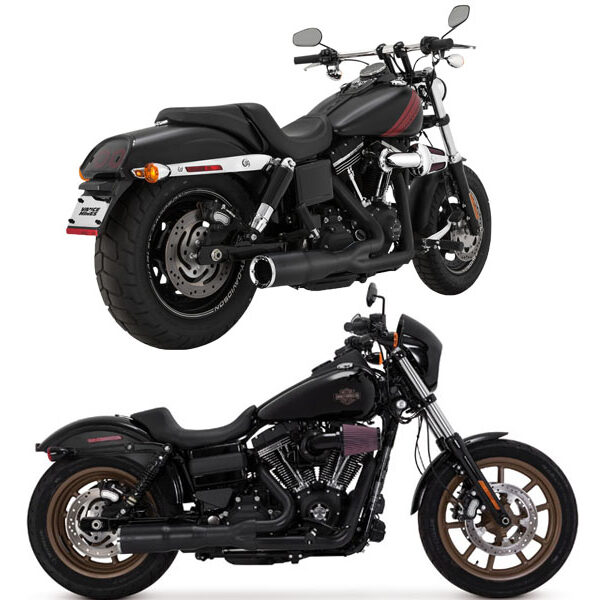 Vance & hines Hi-output 2 in 1 short Dyna