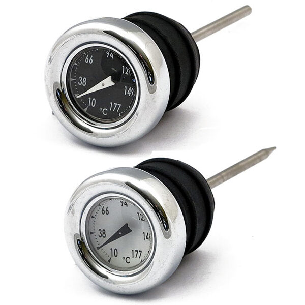 oliepeilstok met temperatuurmeter 84-99 softail - 82-03 XL