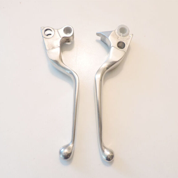 Handlebar lever set polished 96-03 XL sportster 913411