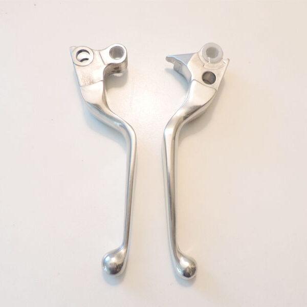 Handlebar lever kit polished 96-14 Softail 913411