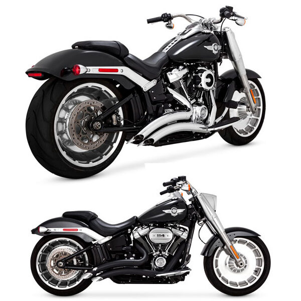 Vance & Hines big radius 2-2 softail milwaukee 8