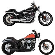 Vance & hines Hi-output 2 in 1 short softail