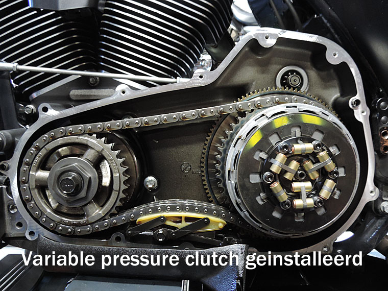 T.P.P Variable pressure clutch