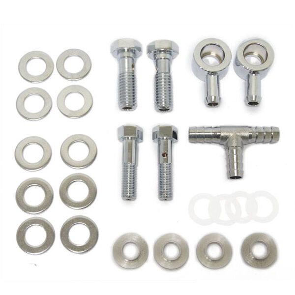 Breather bolt & banjo kit Evo-Twin cam-M8 999498