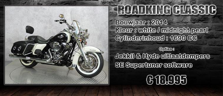 FLHRC Roadking classic 2014 te koop bij Harliepleats