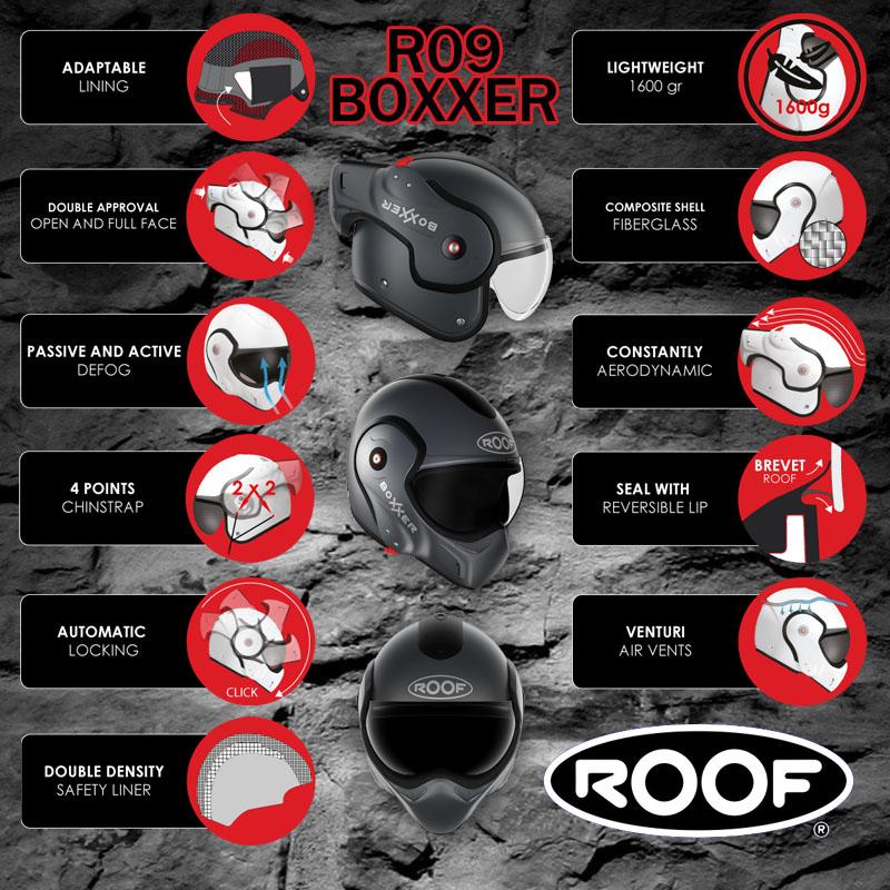 Roof Boxxer R09 helmen