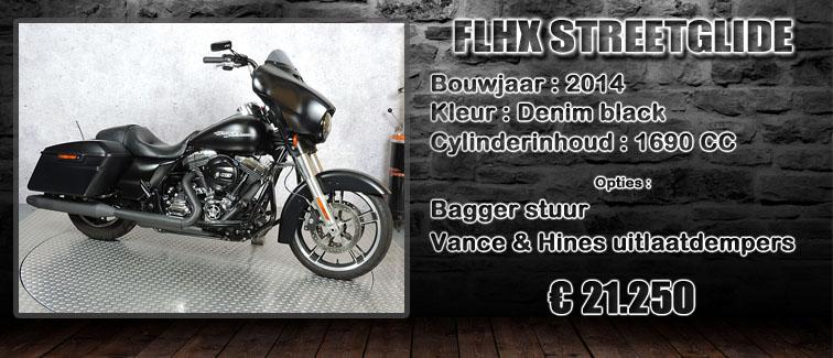 FLHX streetglide uit 2014 te koop te koop bij Harliepleats