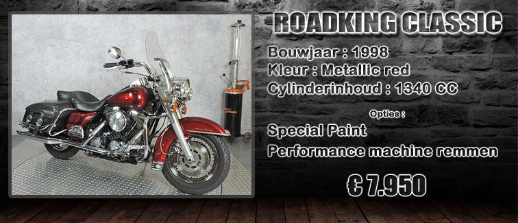 Roadking classic uit 1998 te koop bij Harliepleats