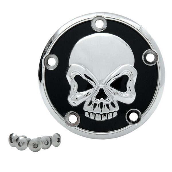Point cover skull 1999-2017 twin cam