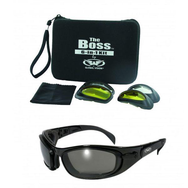 Global vision boss zonnebril