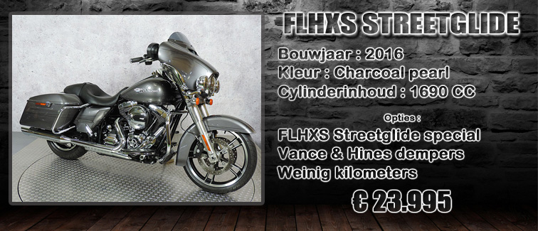FLHXS streetglide special uit 2016 te koop bij Harliepleats