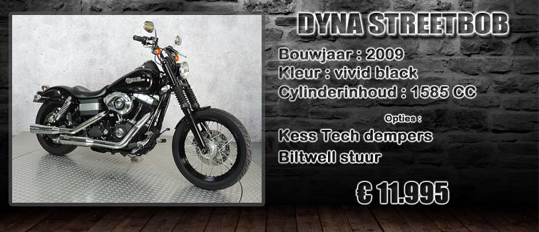 FXDB Dyna streetbob uit 2010 te koop bij Harliepleats