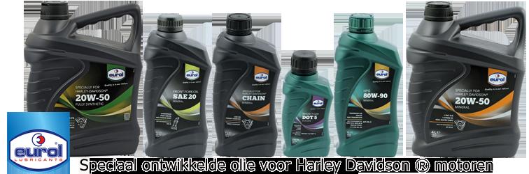 Olie voor Harley davidson motoren
